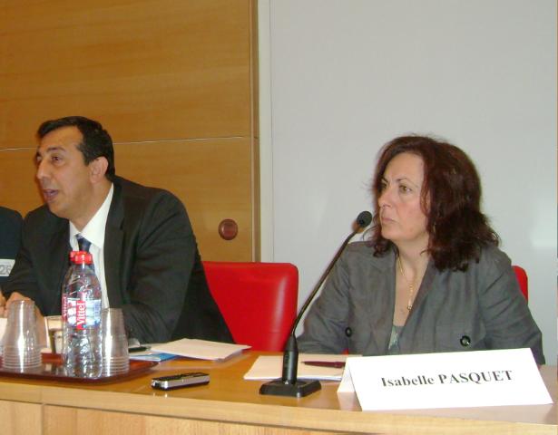 A Demirbas et la Sénatrice Isabelle Pasquet